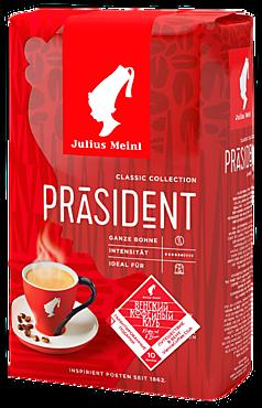 Кофе «JULIUS MEINL» в зернах «Президент», 500г