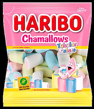 Суфле-маршмеллоу «HARIBO» Шамеллоус Цветные трубочки, 90г