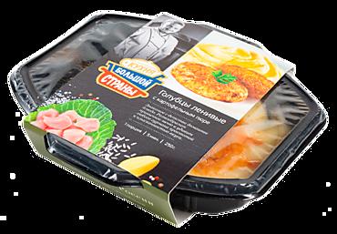 Голубцы ленивые «Кухня большой страны» с картофельным пюре, 250г