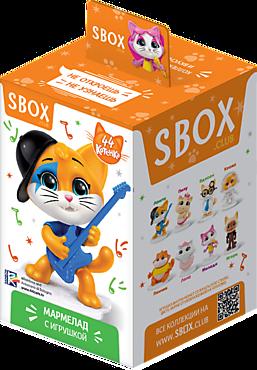 Мармелад жевательный «Sweet box» с игрушкой «44 котенка», 10г