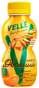 Продукт овсяный питьевой «Velle» Абрикос, 250г