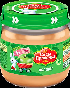 Пюре «Сады Придонья» яблочное, 80г