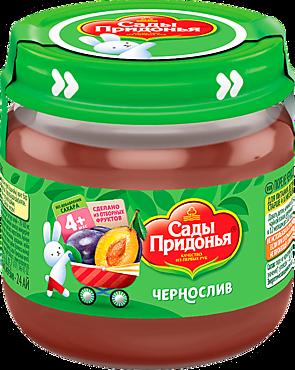 Пюре «Сады Придонья» из чернослива, 80г
