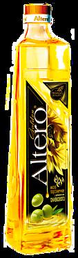 Масло подсолнечное «Altero Golden» с добавлением оливкового, 810мл