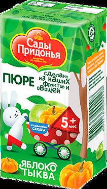 Пюре «Сады Придонья» Яблоко-тыква, 125мл