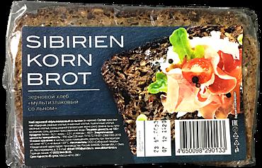 Хлеб зерновой «SIBIRIEN KORN BROT» «Мультизлаковый со льном», 280г