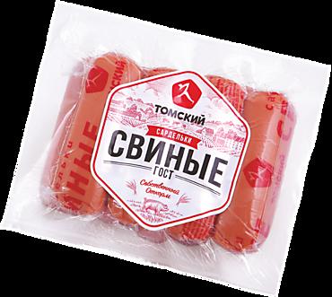 Сардельки «Свинокомплекс Томский» свиные, 640г