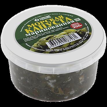 Салат «Томский рыбозавод» морская капуста маринованная с маслом, 250г