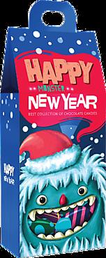Новогодний подарок «Яшкино» «Монстры» голубой, 220г