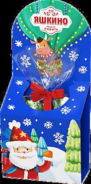 Новогодний подарок «Яшкино» «Воздушный шар» синий, 117г
