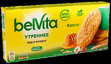 Печенье «BelVita» «Утреннее», мёд-фундук, 225г