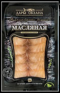 Масляная рыба «Дары океана» холодного копчения, 100г