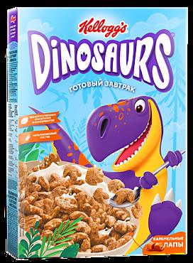 Готовый завтрак «Dinosaurs» Карамельные лапы, 220г