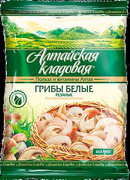 Грибы «Алтайская кладовая» Белые, резанные, 300г