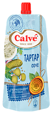 Соус «Calve» Тартар, 230г