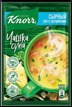Суп сырный «Knorr Чашка супа» с сухариками, 15г