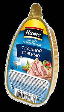 Паштет «Hame» деликатесный из гусиной печени, 105г