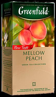 Чай зеленый «Greenfield» Персик и мандарин, 25 пакетиков