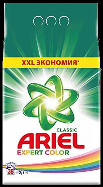 Стиральный порошок «Ariel» Expert Color, 5,7кг