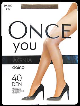 Колготки женские «Once You» Agnia 40 den, daino, размер 3