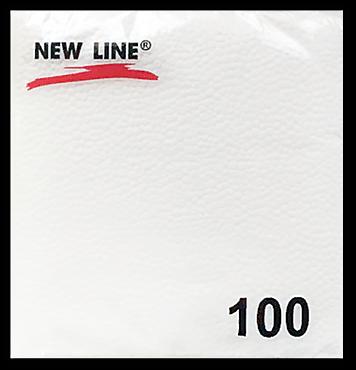 Салфетки бумажные «Новая линия» однослойные, 100 шт