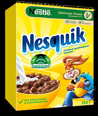 Готовый завтрак «Nesquik» Шоколадные шарики, 220г