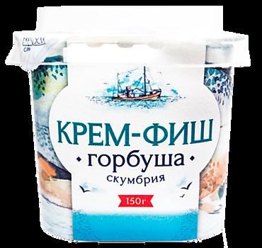 Паста «Крем-Фиш» горбуша-скумбрия, 150г