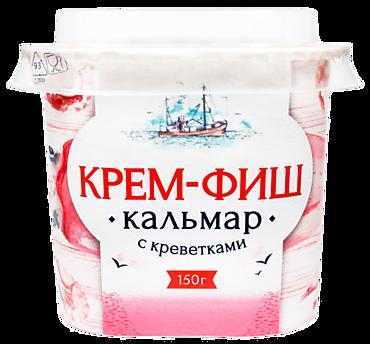 Паста «Крем-Фиш» кальмар-креветка, 150г