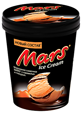 Мороженое «Mars» ведерко, 300г