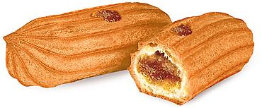 Печенье «Мини-эклеры с печёным яблоком» (коробка 2кг)