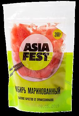 Имбирь «ASIA FEST» маринованный в уксусе, 200г