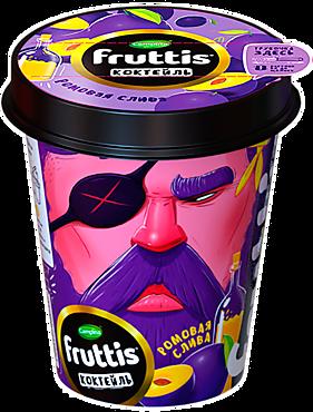 Коктейль йогуртный 2.5% «Fruttis» Ромовая слива, 265г