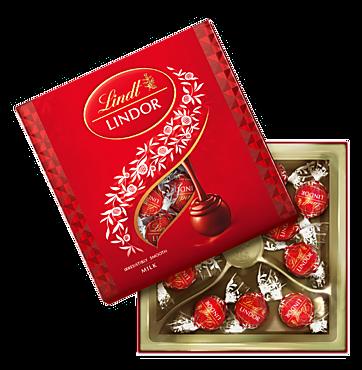 Конфеты «Lindor» из молочного шоколада, 125г