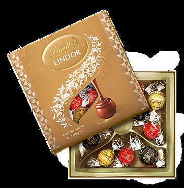 Ассорти конфет «Lindor» с нежной тающей начинкой, 125г