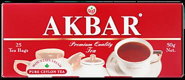 Чай черный «Акбар» 25 пакетиков, 50г