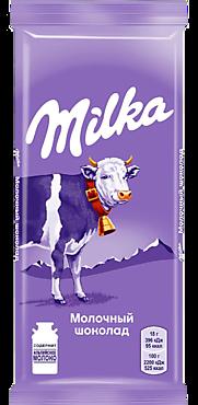 Шоколад «Milka» молочный, 90г