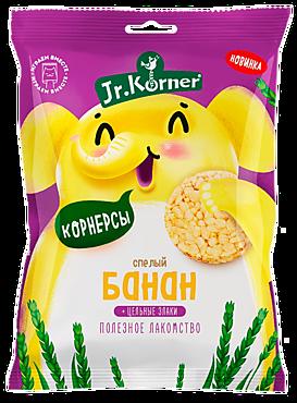 Мини-хлебцы «Jr.Korner» рисовые с бананом, 30г