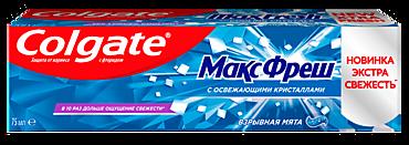 Зубная паста «Colgate» Взрывная мята, 75мл