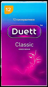 Презервативы «Duett» Классические, 12шт