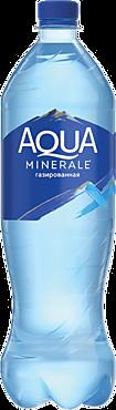 Питьевая вода «Aqua Minerale» газированная, 1л