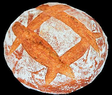 Хлеб бездрожжевой подовый белый, 420г