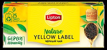 Чай черный «Lipton» Yellow label 25пакетиков