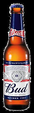 Пивной напиток «Bud» безалкогольный, 330мл