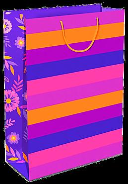 Пакет подарочный бумажный, 180*223мм