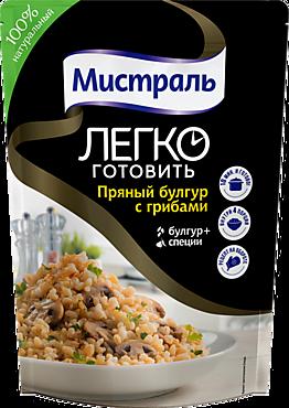 Второе блюдо «Мистраль» Булгур с грибами, 230г