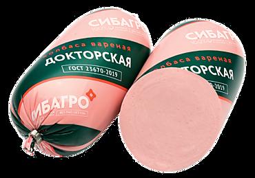Колбаса «СибАгро» Докторская, 450г