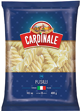 «Cardinale», макаронные изделия Cardinale Спирали, 400г