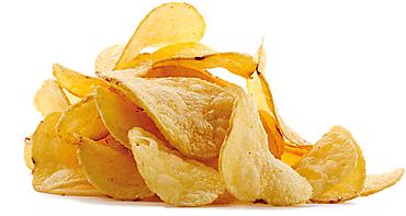 Чипсы из натурального картофеля со вкусом шашлыка, 250г