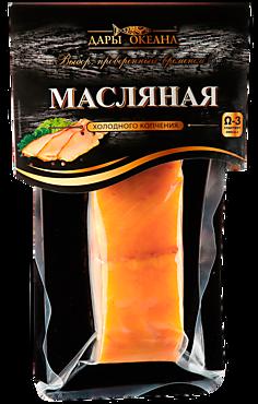 Масляная рыба «Дары океана» филе холодного копчения, 150г