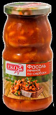 Фасоль «EKO» печеная по-сербски, 510г